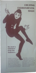 Picture of original Environmental Magic brochure from 1994.
