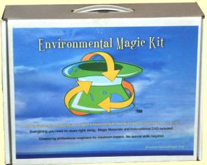 Photo of the Envrionmental Magic Kit box